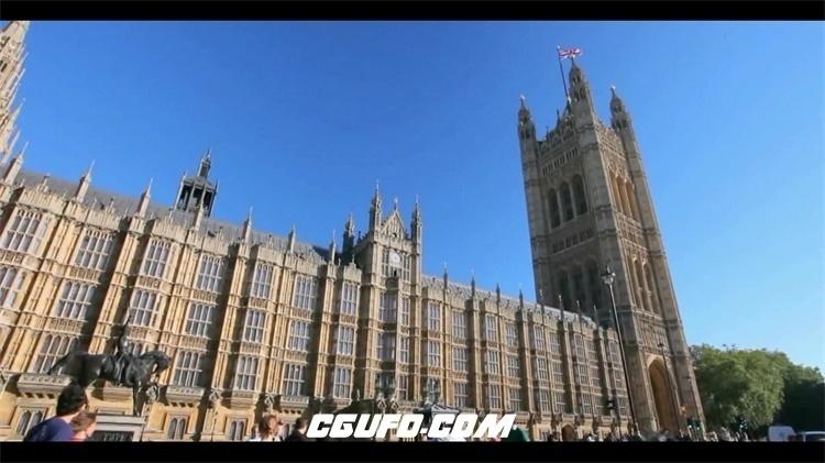 2183-英国伦敦城市唯美建筑地标人文生活风光随手拍景色高清视频实拍