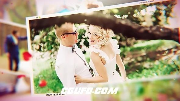 6352唯美婚礼爱情相册展示动画AE模版,Wedding