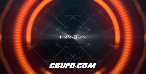 6371高科技地球元素包动画AE模版,Mantra (Sci-Fi Pack)