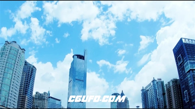 2360城市高楼大厦企业商务会谈工程合作建设成功表情握手高清视频拍摄