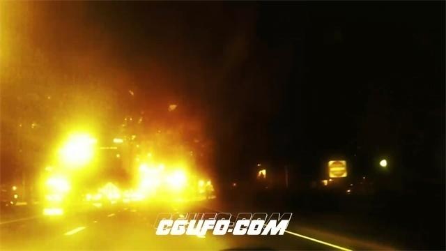 2496-唯美马路穿梭灯光加速延时高清实拍视频素材
