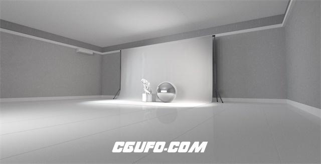 C4D影棚环境预设产品环境C4D预设 C4D 3D Studio Lighting Setup Cinema4D Scene