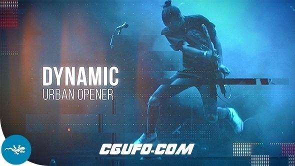6502城市宣传片大气包装动画AE模版,Dynamic Urban Opener