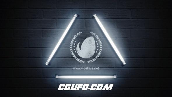 6664简洁logo演绎动画AE模版,Logo Lamp