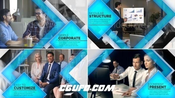 6566公司企业宣传片包装动画AE模版,Company Presentation