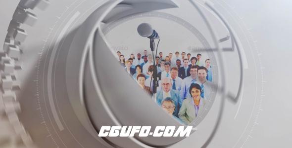 6579球形图片Logo演绎展示动画AE模版,Spherical Logo