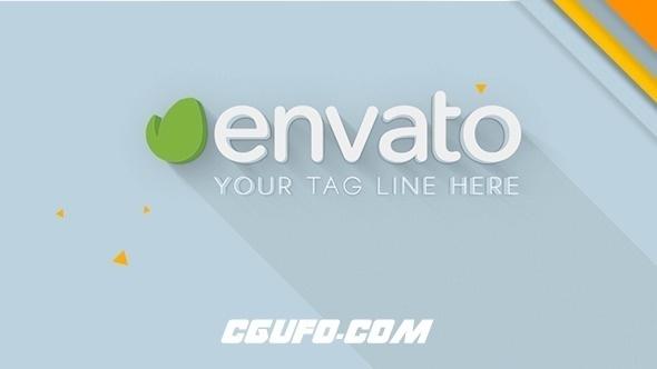 6590图片展示简洁logo演绎动画AE模版,Logo 3