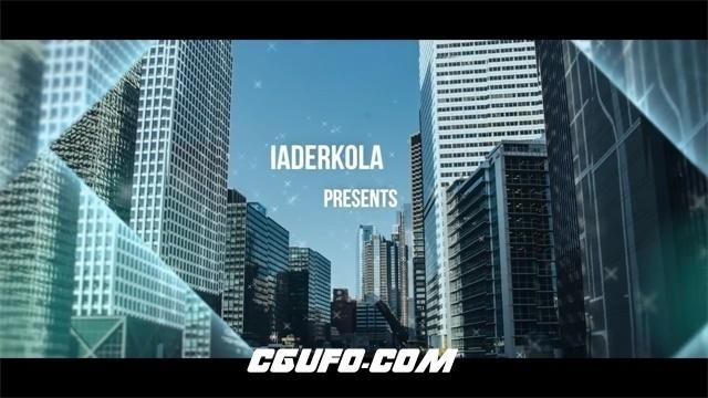 6617公司企业图文展示动画AE模版,Corporate Parallax Slideshow