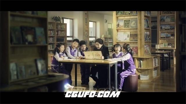 2620-小学生认真读书学习互动校园学习氛围学校宣传片高清实拍视频素材