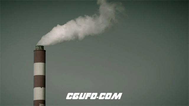 2650-雾霾颗粒重度污染环境戴口罩人群环保宣传片高清实拍视频素材