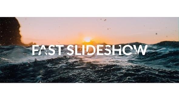 6741快速图片转场动画AE模版,Fast Slideshow