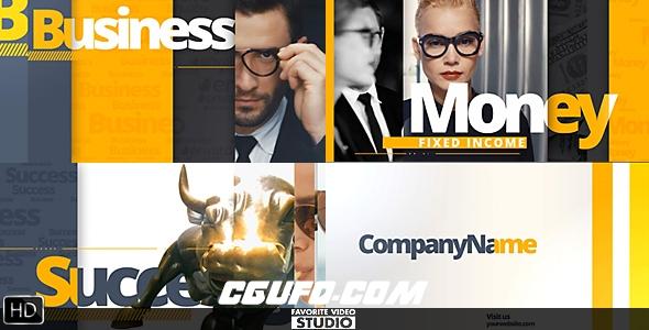 6751公司企业商务宣传片包装动画AE模版,Multi Functional Broadcast Pack