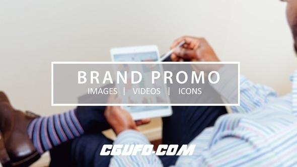 6772创意设计视频包装动画AE模版,Brand Promo
