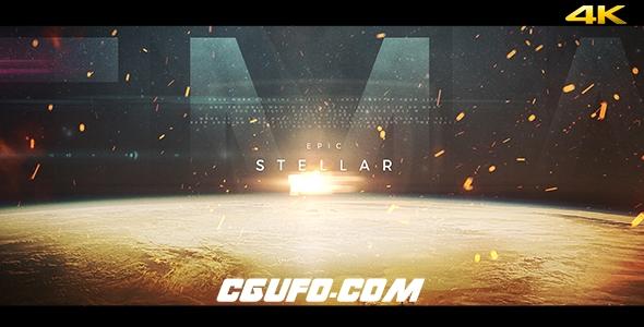 6853电影预告片电影包装动画AE模版,Stellar – Epic Trailer