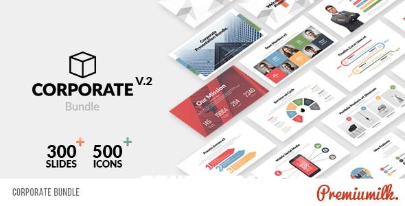 7020公司企业商业信息包装动画AE模版,Corporate Bundle & Infographics