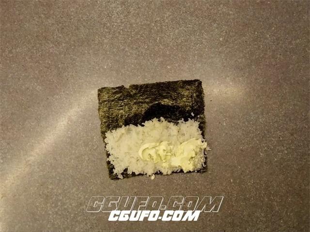 2799-美味清新紫菜青瓜鲜虾小卷寿司制作过程延时记录高清实拍视频素材