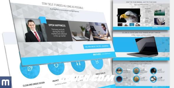 7145公司企业年度计划宣传视频包装AE模版,Business Planning – Clean Presentation
