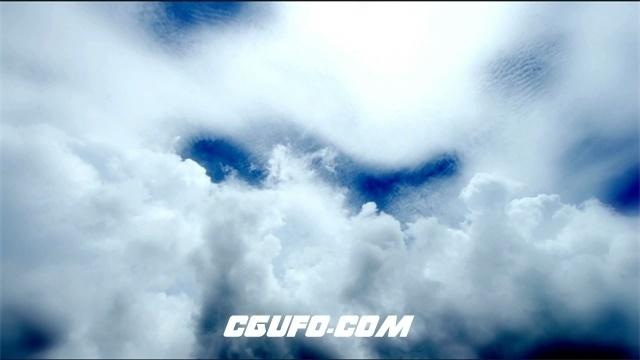 2881-白云翻滚高清实拍视频素材