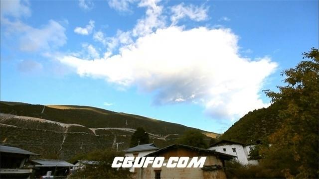 2897-流动的云高清实拍视频素材