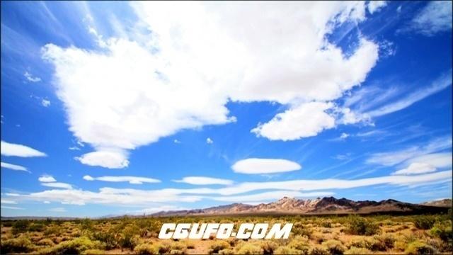 2927-云翻滚高清实拍视频素材