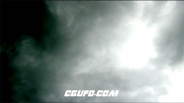 2928-云翻滚高清实拍视频素材