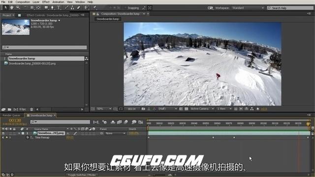 第128期中文字幕翻译教程《AE完美镜头特效制作训练视频教程》