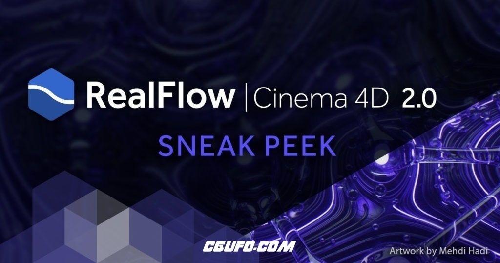 RealFlow C4D流体特效接口插件v2.0.0.0037 Win/Mac – 替换破解版