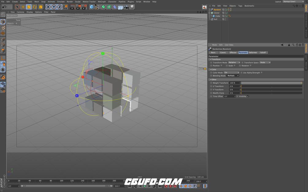 C4D XPresso运动工具Xpresso Motion Tools - CGUFO