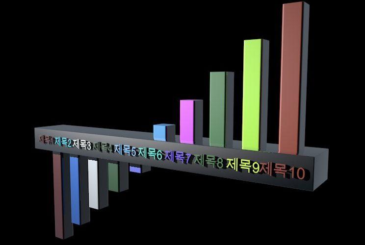 C4D柱状图动画预设 ks preset