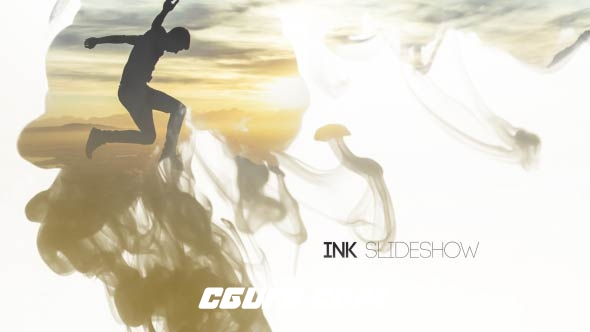 7324-12组水墨水彩风格转场过渡特效动画AE模版,Ink Slideshow | 12 Transitions