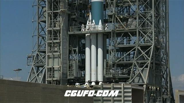 3036-科技科学航天技术火箭发射人员研究航空人员工作交流高清实拍视频素材