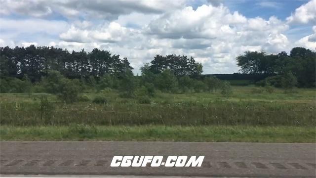 3263在路上行驶拍摄高清实拍视频素材