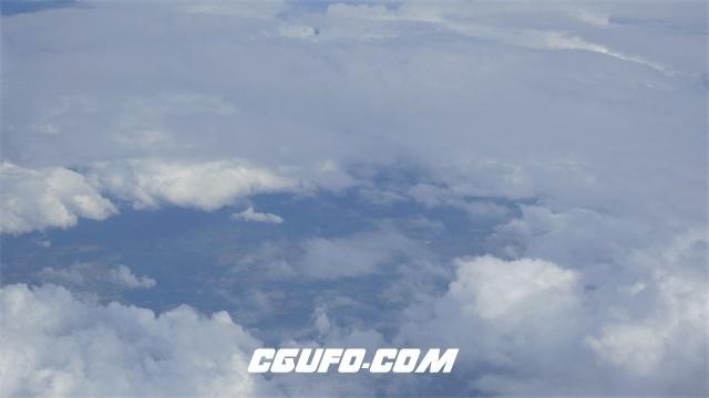 3346-4K蓝天白云高清实拍视频素材