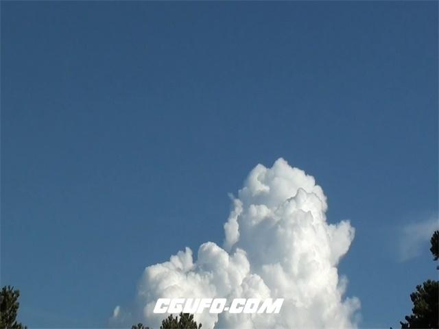 3333蓝天白云高清实拍视频素材