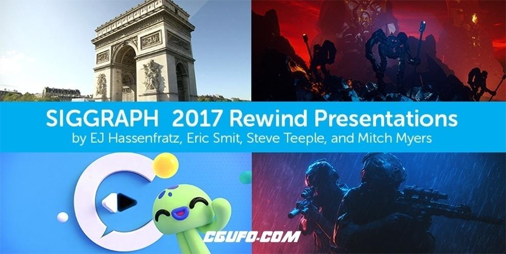 Cinema 4d R19大神运动图形系列视频教程合集[第二批]Siggraph 2017 Rewind