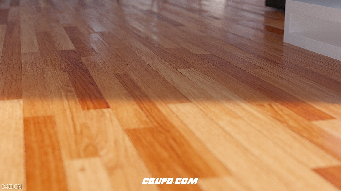 木地板C4D预设Xpresso Floor Generator - CGUFO