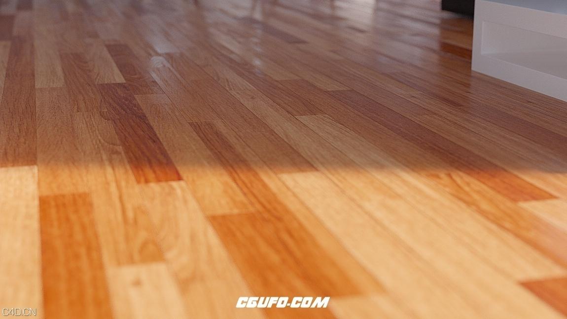 木地板C4D预设 Xpresso Floor Generator
