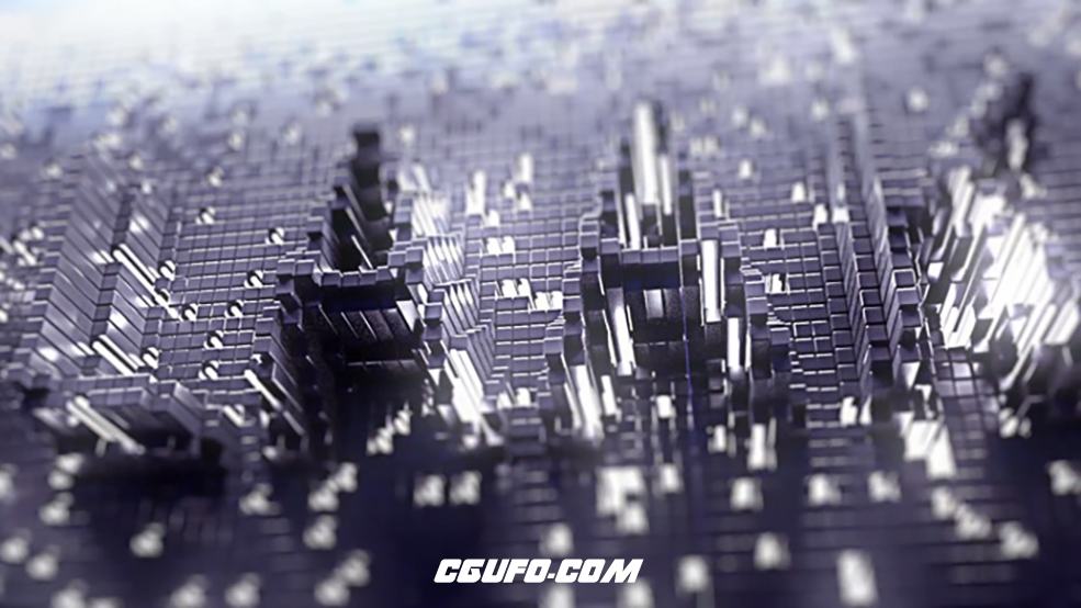 C4D黑白贴图驱动动画教程 Cinema 4D Using Black and White to Drive Your Animation