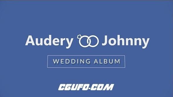 2704爱情婚礼回忆时间轴相册动画AE模版,timeline wedding album