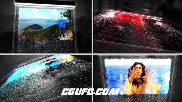 2727能量粒子图片视频展示动画AE模版,Powerful Particles Displays