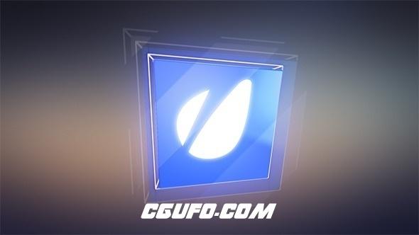 2746创意3D风格字幕条动画AE模版,Glossy 3D Cube Lower Thirds