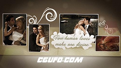 2753婚礼相册动画AE模版,Wedding Album