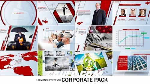2891企业公司宣传片包装动画AE模版,Corporate Pack