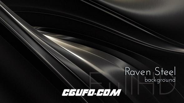 3101金属钢动态背景高清视频素材,Raven Steel Background
