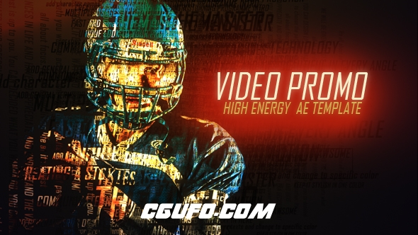 7403创意视频特效包装动画AE模版,Video Promo