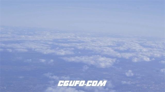 3387白云蓝天高清实拍视频素材