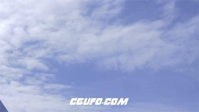 3389白云蓝天高清实拍视频素材