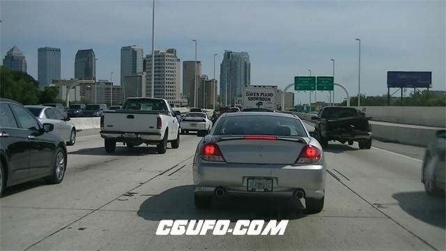 3400城市交通车辆高清实拍视频素材