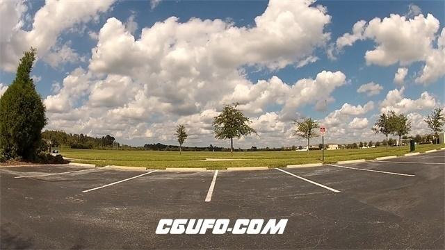 3419公路蓝天白云高清实拍视频素材