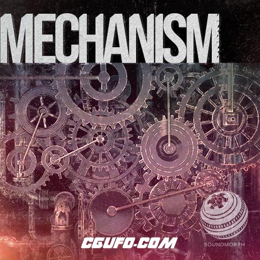 年费VIP专享机械齿轮蒸汽朋克机器金属机器变形科幻无损音效